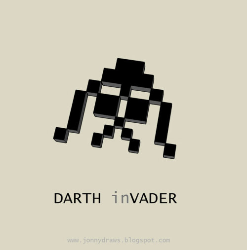koldunkisloty:  Darth inVader // By: JonnyDraws