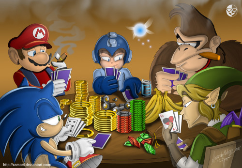 Gaming Poker by xamoel Deviantart.
