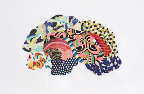 "Artist: Jazmin Berakha From the ""Bordados Embroidery"" Series"