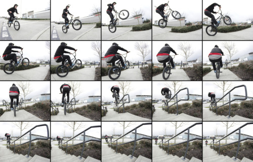 Luke Santucci shot this sequence of Desson the other day and I got bored and put it together for him. Barspin to manual to double peg down the kinker.