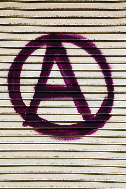 Anarchy Sign by simorganphoto.com on Flickr.