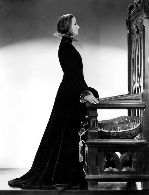 Greta Garbo in Queen Christina in 1933