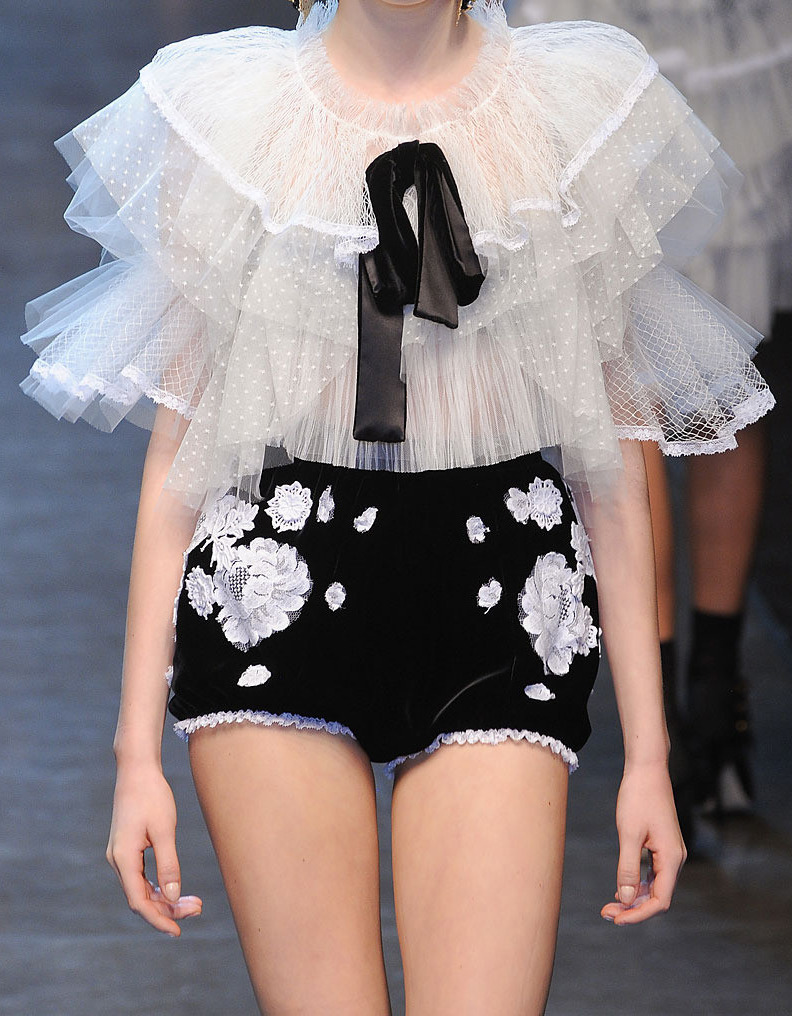 suicideblonde:  Dolce and Gabbana Fall 2012