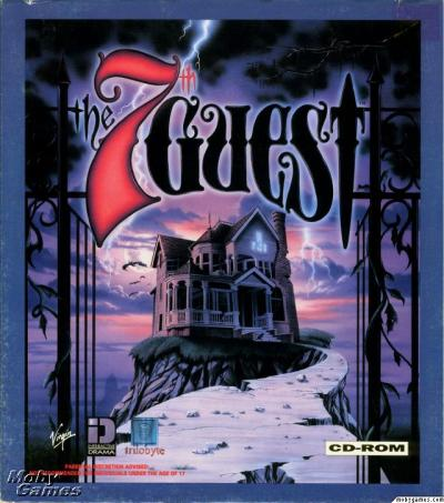"The 7th Guest, produced by Trilobyte and released by Virgin Games in 1993, is an interactive movie puzzle adventure game. It was one of the first computer video games to be released only on CD-ROM. The 7th Guest is a horror story told from the unfolding perspective of the player, as an amnesiac. The game received a great amount of press attention for making live action video clips a core part of its gameplay, for its unprecedented amount of pre-rendered 3D graphics, and for its adult content. In addition, the game was very successful, with over two million copies sold, and is widely-regarded as a killer app that accelerated the sales of CD-ROM drives. Bill Gates called The 7th Guest ""the new standard in interactive entertainment. Download from: emuparadise.org"