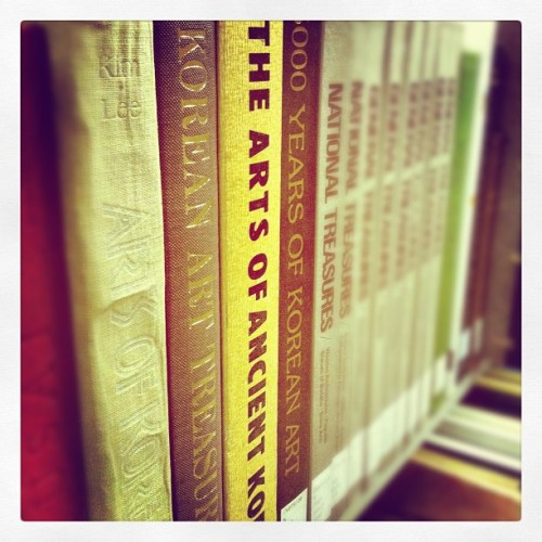 I went looking for books on Ozu and ended up here (Taken with Instagram at 上智大学 中央図書館)