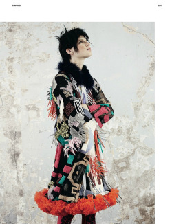 Querelle Jansen is shot by Ben Toms, styled by Katie Shillingford for Dazed & Confused