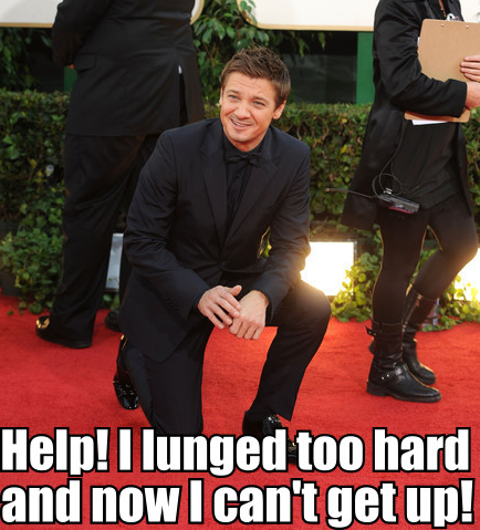 The Renner Stretch prevails.