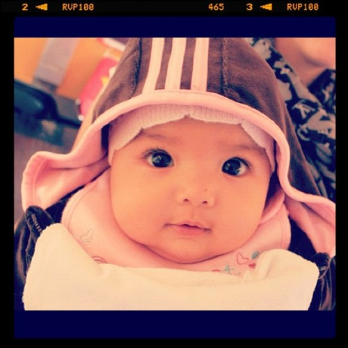 Kaylaaa! So cute, miccuuu :* #baby #instadaily #instago #instahood #instagram #iphonesia (Taken with instagram)