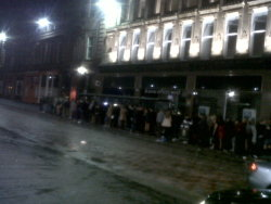 Boxing day taxi queue fail Central Station December 26th 2011