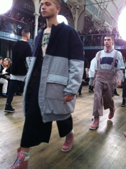 Oversized layers from Shaun Samson
