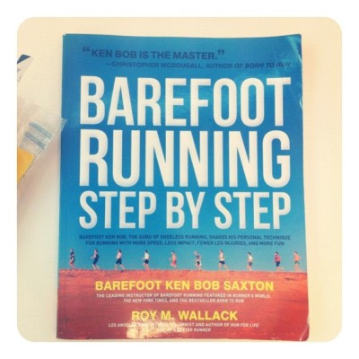 Barefoot Ken : Barefoot running advice. Really nice book :-) (Taken with instagram)
