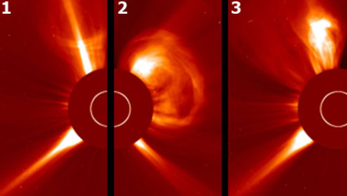 Sun unleashes 5 solar eruptions in 2 daysScientists monitor solar eruptions because they can disrupt satellites and causes communication interference.