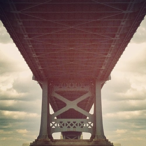 Under the bridge… (Taken with instagram)
