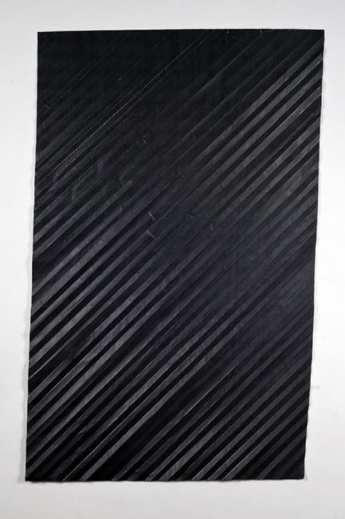 "michaelcharles:  Niall McClelland Tapestry - Storm Folded photocopy on paper 35"" x 57"" 2010 More : http://www.niallmcclelland.com"