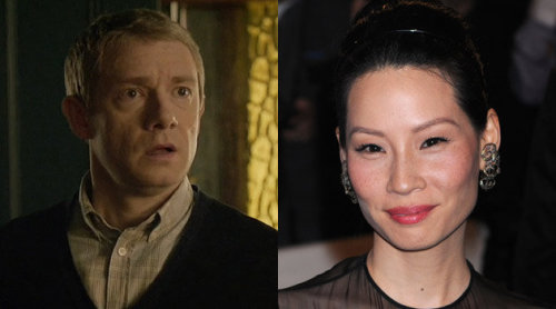 As if making an American Sherlock wasn't silly enough. Now Lucy Liu has been cast as Watson. Lucy Liu? I didn't even know she was acting anymore. -A