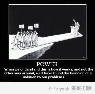 the truth about power…