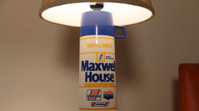 For those who have ever thought a Thermos would make a sick lamp…