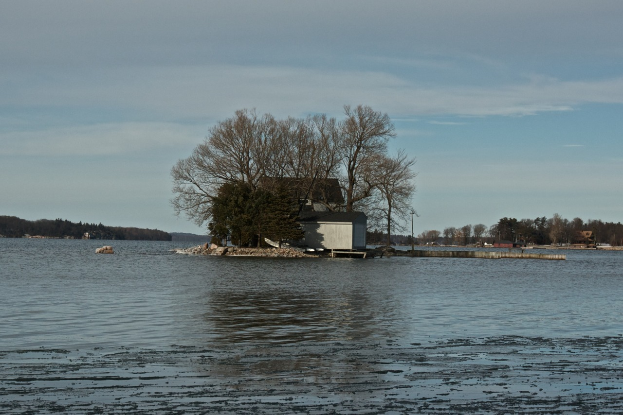 Island living. Isolated, but peaceful.  Clayton, New York, United States.