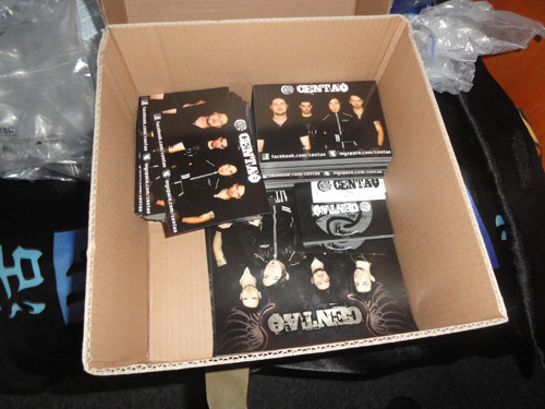 Finally received the package full of flyers, stickers, posters…  LET THE INVASION BEGIN!!  btw… thank you Matt x)