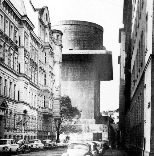 Friedrich Tamms, Anti-aircraft fortification, Vienna, Austria, WWII