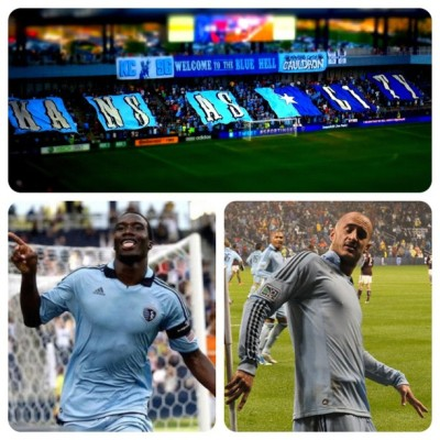 Just me playing around with my new photo app. #SportingKC (Taken with instagram)