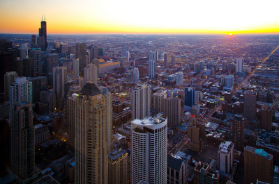 """Pic of the Day"" — ""Dusk"" by topmedic  Do you have a Chicago-related photo you think is worthy of being our ""Pic of the Day""? Submit it!"