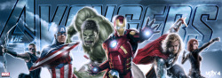 New Promotional Art Banner for The Avengers