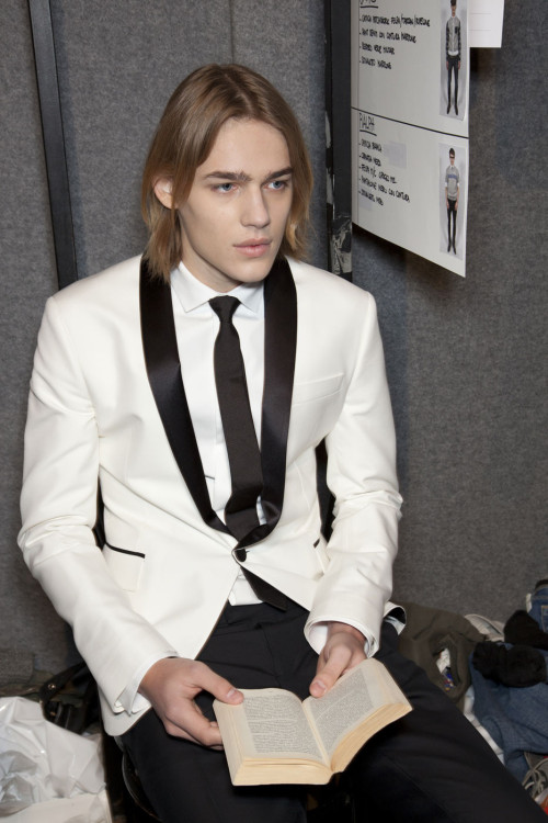 Ton Heukels - Dsquared2 FW12 Women's Show Backstage