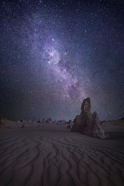 Ethereal - Pinnacles - Western Australia by Luke Austin on Flickr.