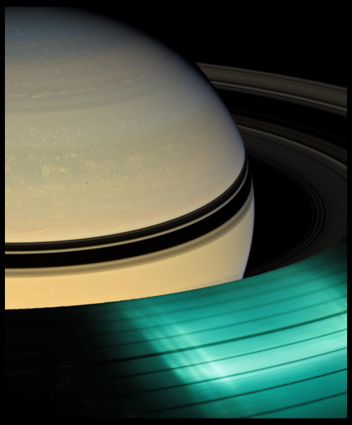 Saturn + Vinyl Saturn's photo by Cassini
