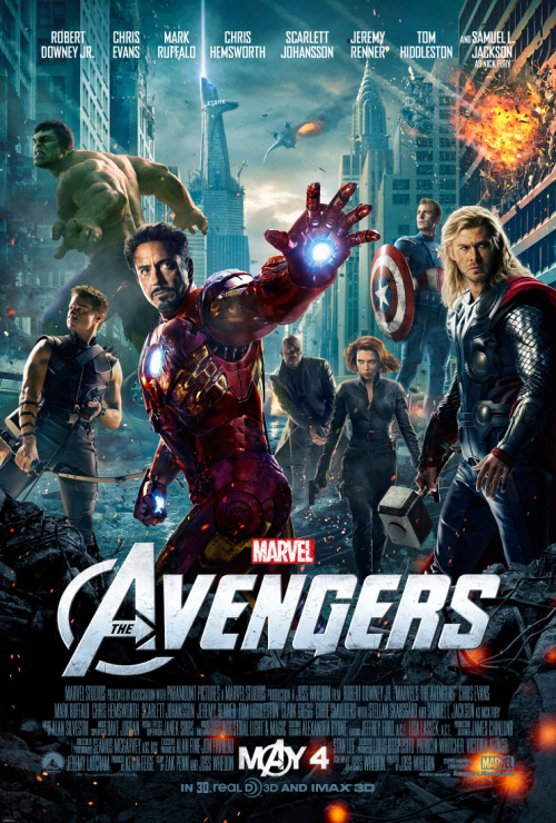 agentmlovestacos:  BOOM! A new poster Marvel's The Avengers! New trailer hits tomorrow. Get ready!