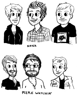 "NONA and PEEPLE WATCHIN' drawings for split 7"" EP labels Hear the music: NONA and Peeple Watchin' The 7"" will be released by Get Better, My Parents Records, Square of Opposition and Behind Punk in March!"