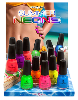 China Glaze Summer Neons Summer 2012