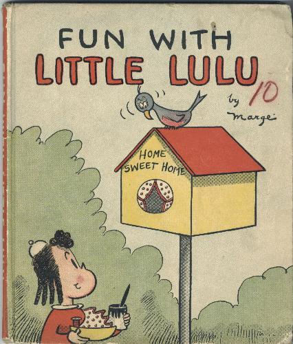 heckyeahlittlelulu:  'Fun with Little Lulu' David McKay book 1936