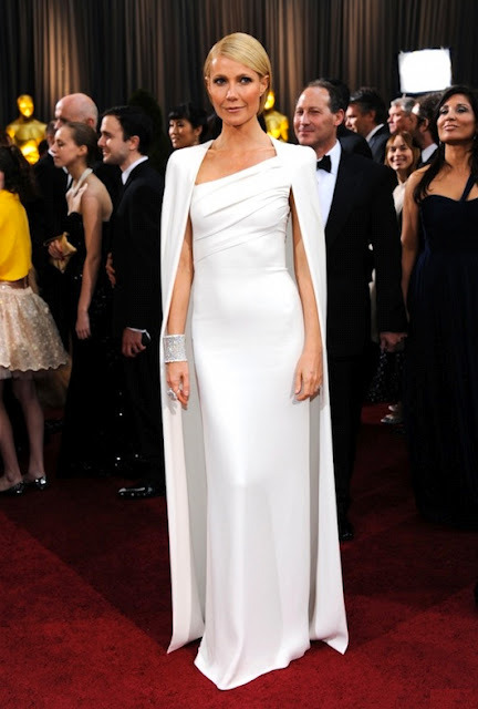 My favorite from the Oscar red carpet was Gwyneth's gown by Tom Ford, especially loved the cape mariel xx *image via celebuzz
