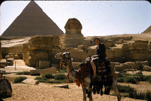 Mamie in Egypt on Flickr.Mamie Anderzohn  circa 1963