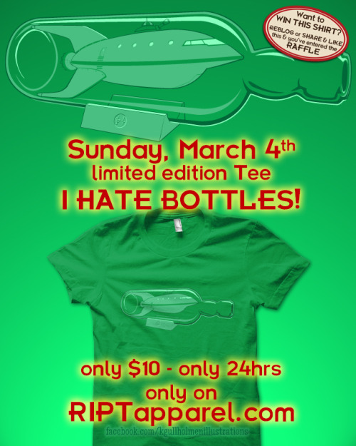 Sunday, March 4th on riptapparel for only $10 / 24hrsreblog or share / like on facebook to be part of the give-awayhead over to my facebook for details » http://on.fb.me/w49QNx