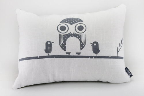 Woodland Owl Pillow Cover – 12x16, Price: $32.00, found at ToddAh. http://www.etsy.com/shop/ToddAh