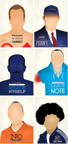 minimalmovieposters:  Arrested Development Portrait Collection 1 of 3 by Visual Etiquette