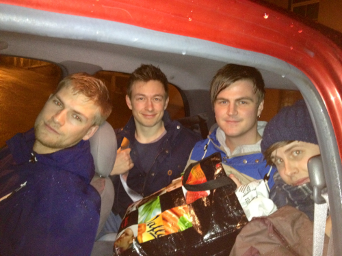 How many thieves can fit in a micra?