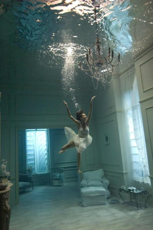 I want to live in an Underwater House!