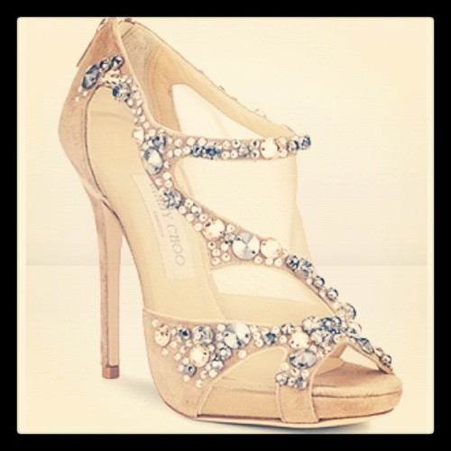 WANNA WEDNESDAY! I've got my eyes on these #jimmychoo Quinze #heels - perfect for my #wedding day! #soft #suede #mesh #leather & #embellished with #swarovski #crystals What's on your #wanna list!? xx (Taken with instagram)