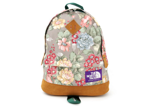 The north face - purple label flower print backpack