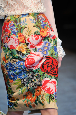 dolce and gabbana {via fashion in details}