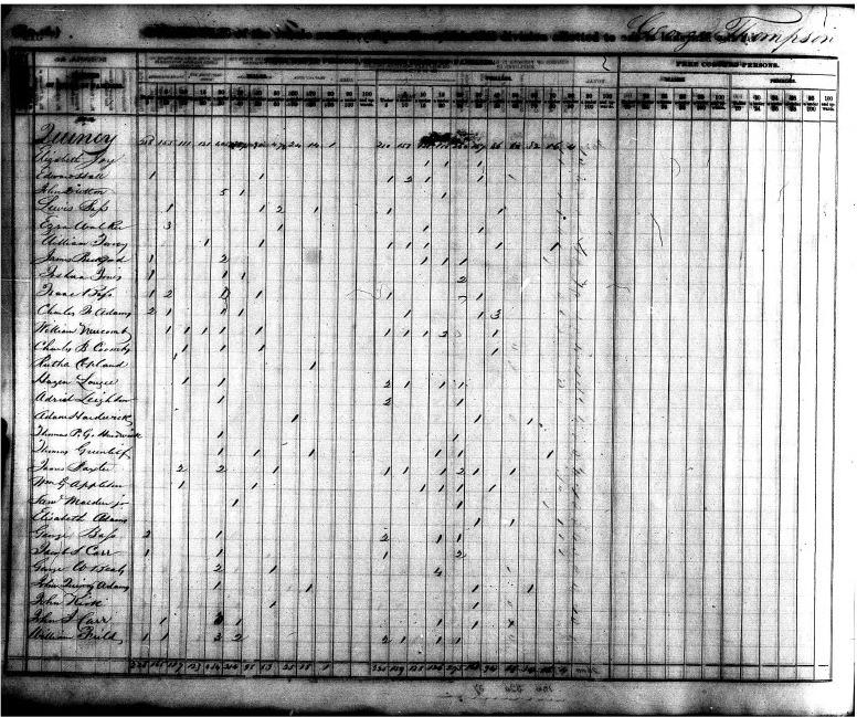 Just 30 days until the release of the 1940 census! John Quincy Adams, son of President John Adams, served in the  House of Representatives for 17 years after he left the Presidency.  See his census records for 1820, 1830, and 1840 on our Presidents and the U.S. Census web page.