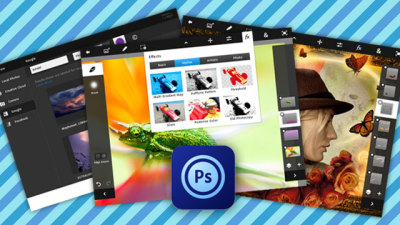 welovephoneography:  It's here—the Adobe Photoshop Touch for the iPad 2! This app's got some basic features pulled from Photoshop, like layers, & photo touch-up tools, like the clone stamp. It also has sweet, tablet-friendly features like: The Scribble Selection Tool, which lets you scribble over a spot you want to select. The Camera Fill feature, which lets you fill in a layer area with a photo you snapped with the iPad's camera. Get the full deets of this iPad app here. Oh and Photoshop Touch is for Android lovers, too! via Lifehacker  Am I the only one who's slightly skeptical of this?It doesn't seem like the best idea to me.