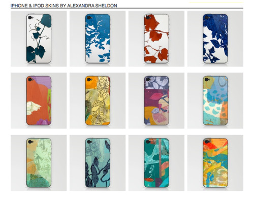 new cases available! www.society6.com/alexandrasheldon