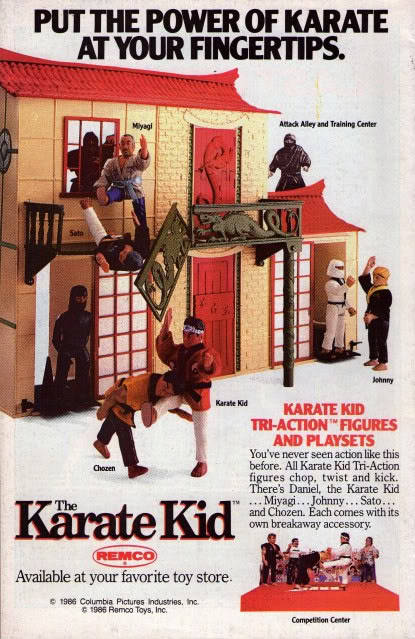 Get him a body bag!Karate Kid Action Figures…From Remco! | The Retroist