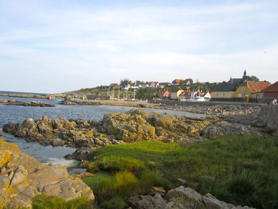 Bornholm, an island off the coast of Denmark… I miss it so.  I spent three days on the island, biking from one side to the other and enjoying beaches, waterfalls, country, fishing towns and even castle ruins.