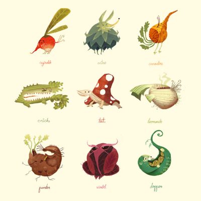 yasminacreates:  Vegetimals by ~Scummy